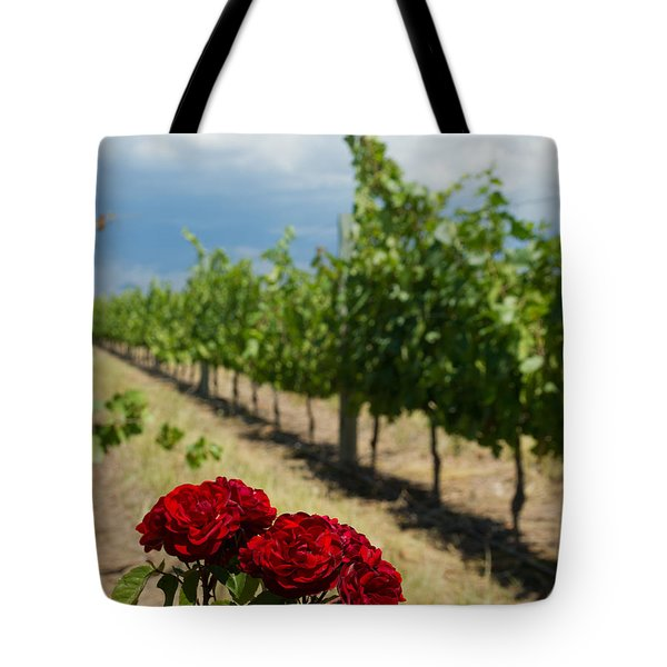 Vineyard Rose Tote Bag