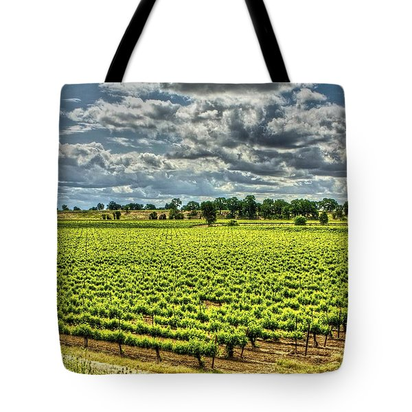 Vineyards Almost Ripe Tote Bag