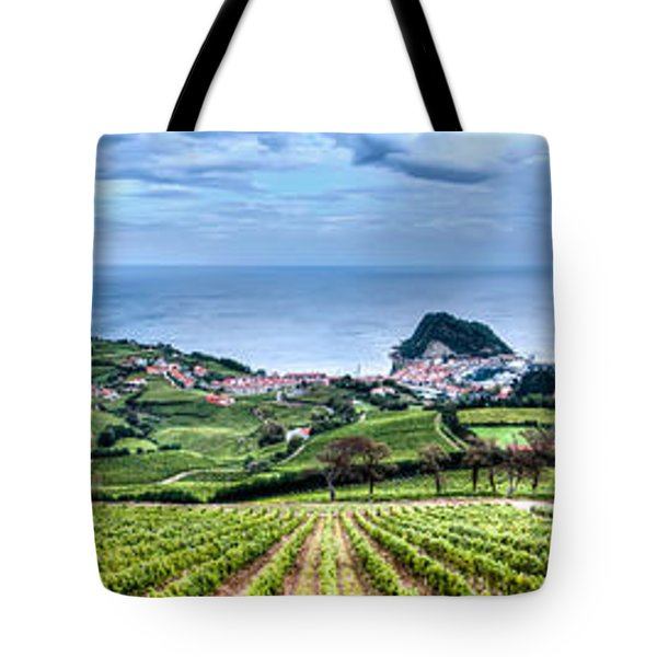 Vineyards By The Sea Tote Bag
