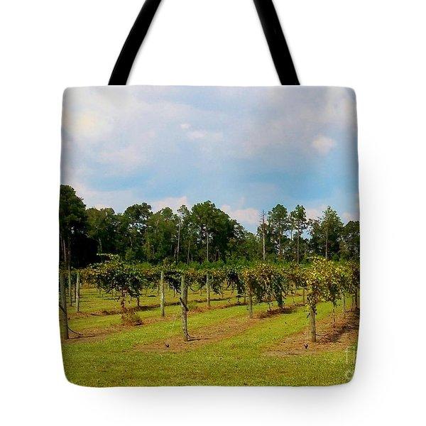 Vineyards Tote Bag by Eloise Schneider