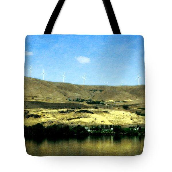 Vineyards On The Columbia River Tote Bag