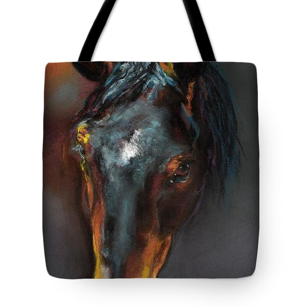 Vinnie Mustang Love Tote Bag by Frances Marino