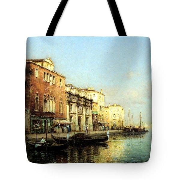 Vinse Tote Bag by Marc Aldine