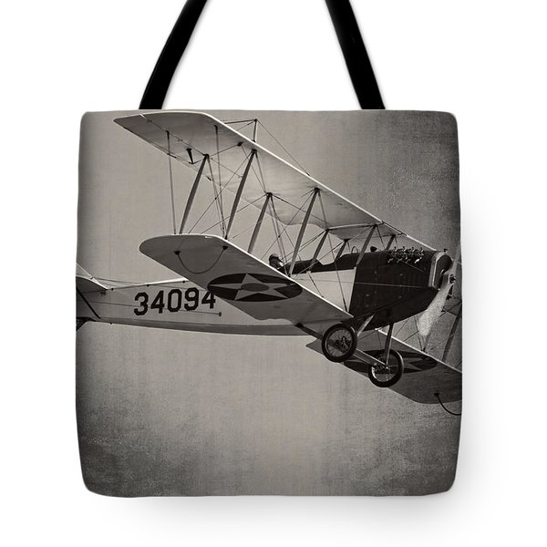 Vintage 1917 Curtiss Jn-4d Jenny Flying  Tote Bag