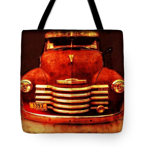 Vintage 1950 Chevy Truck Tote Bag