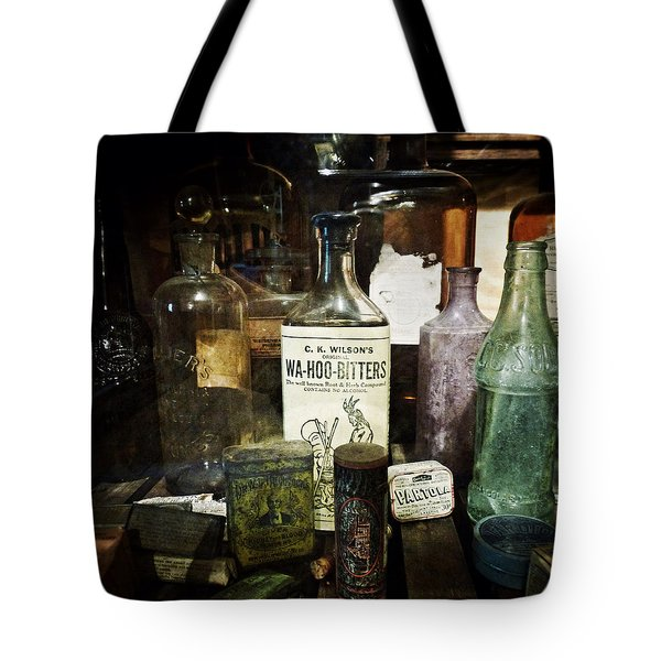 Vintage Apothecary Tote Bag