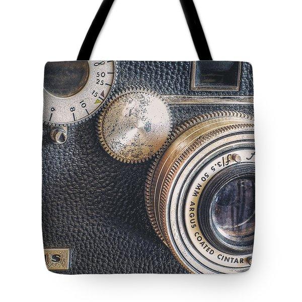 Vintage Argus C3 35mm Film Camera Tote Bag