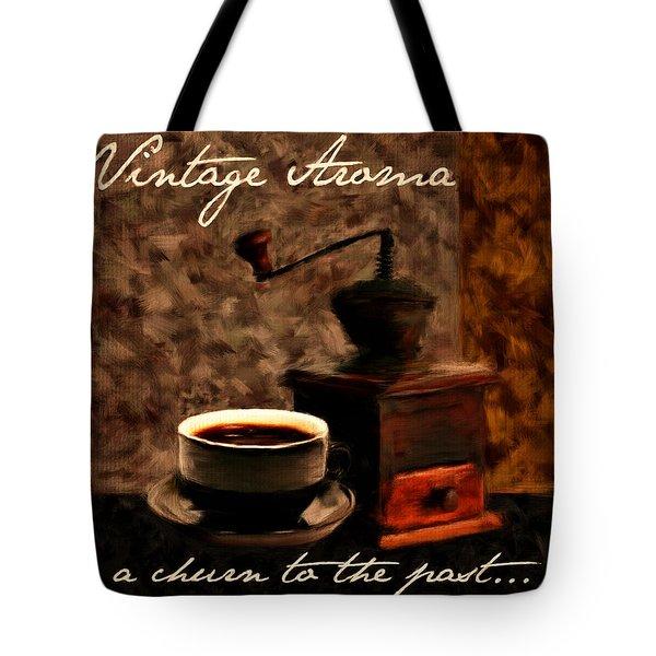 Vintage Aroma Tote Bag by Lourry Legarde