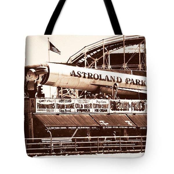 Vintage Astroland Park Tote Bag