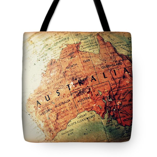 Tote Bag featuring the photograph Vintage Australia by Faith Williams