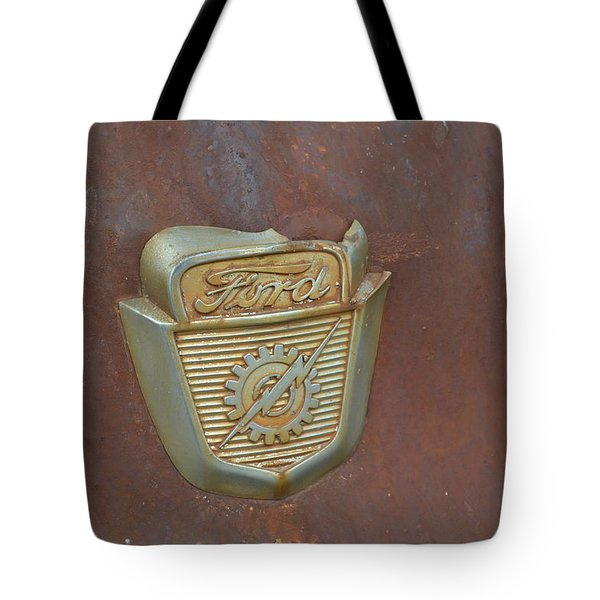 Vintage Badge Tote Bag