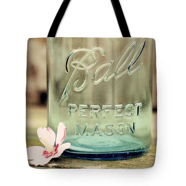 Vintage Ball Perfect Mason Tote Bag