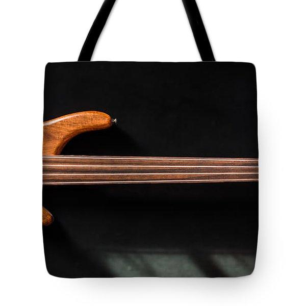 Vintage Bass Guitar  Tote Bag
