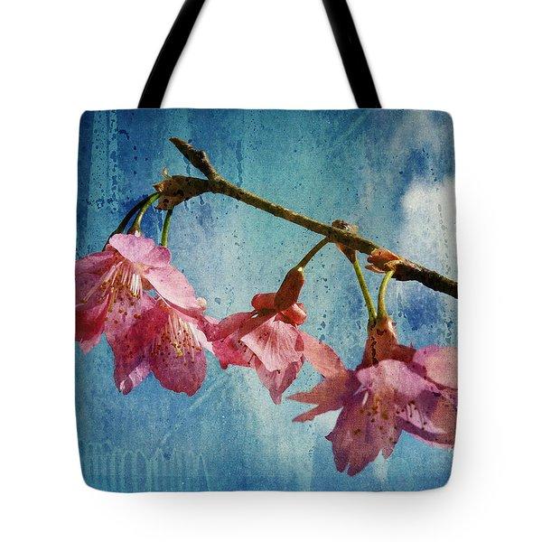 Vintage Blossoms Tote Bag by Carla Parris