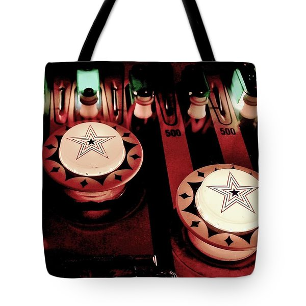 Vintage Bumpers Tote Bag by Benjamin Yeager