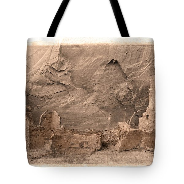 Tote Bag featuring the photograph Vintage Canyon De Chelly by Jerry Fornarotto