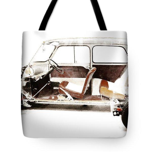 Vintage Car  Tote Bag by Gina Dsgn