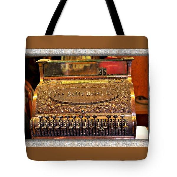 Vintage Cash Register Tote Bag