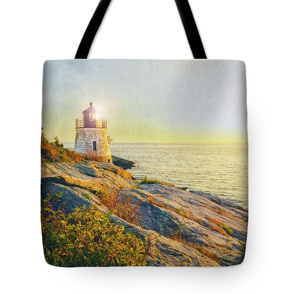 Vintage Castle Hill Light Tote Bag