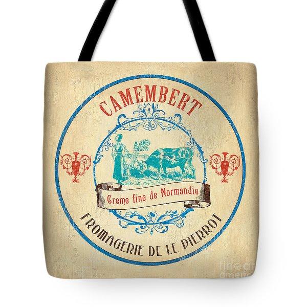 Vintage Cheese Label 3 Tote Bag