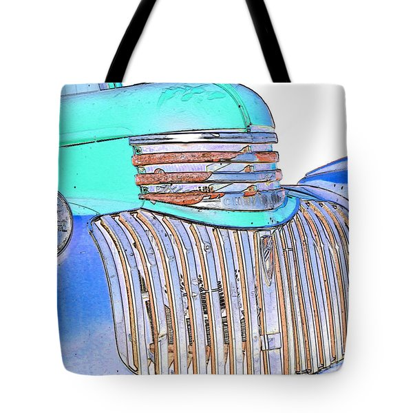 Vintage Chevrolet Pickup 3 Tote Bag by Betty LaRue