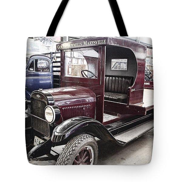 Vintage Chevrolet Pickup Truck Tote Bag by Douglas Barnard