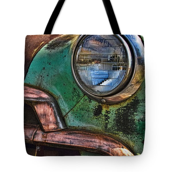 Vintage Chevy 3 Tote Bag
