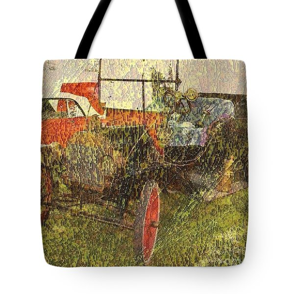 Vintage Classic Automobile Tote Bag by PainterArtist FIN
