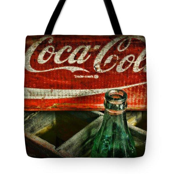 Vintage Coca-cola Tote Bag