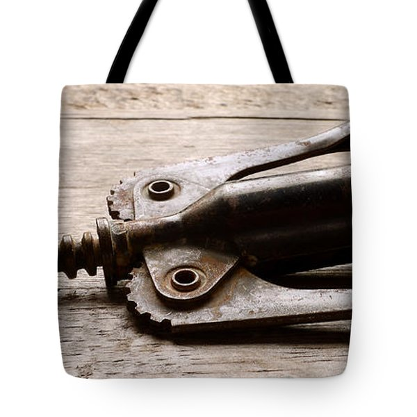 Vintage Corkscrew Tote Bag