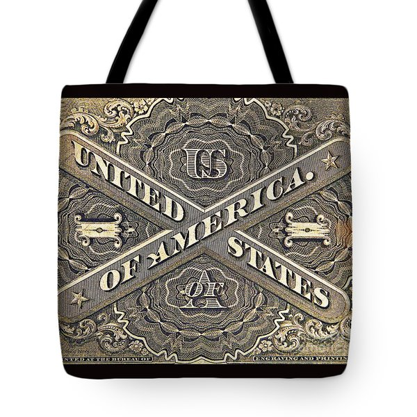 Vintage Currency  Tote Bag by Chris Berry