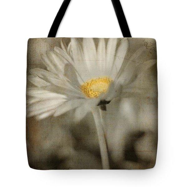 Vintage Daisy Tote Bag by Joann Vitali