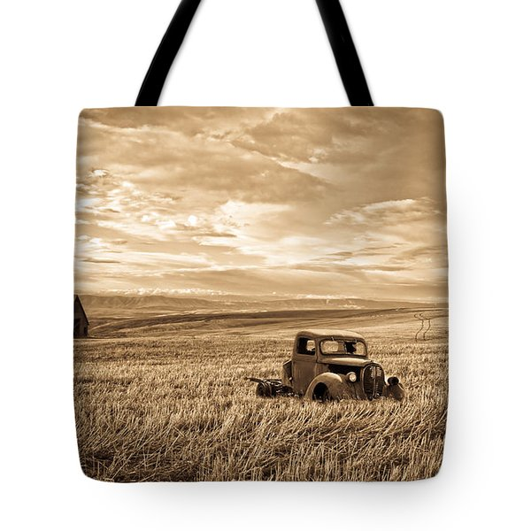 Vintage Days Gone By Tote Bag by Steve McKinzie