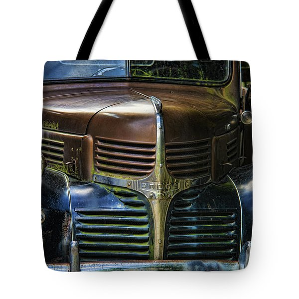 Vintage Dodge Tote Bag by Mark Newman