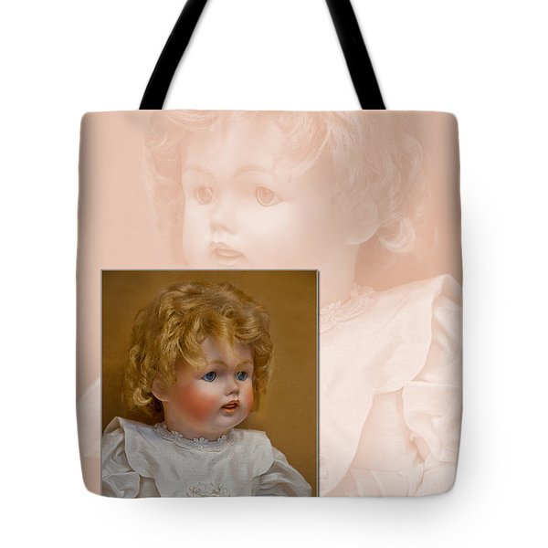Vintage Doll Beauty Art Prints Tote Bag