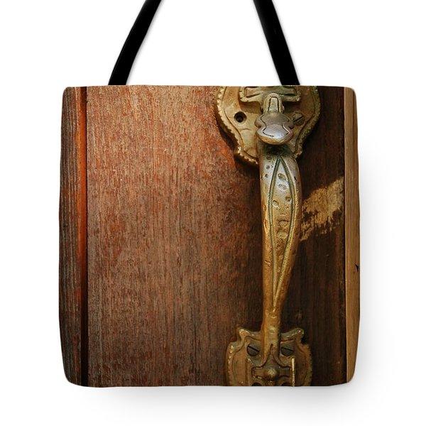 Vintage Door Handle Tote Bag