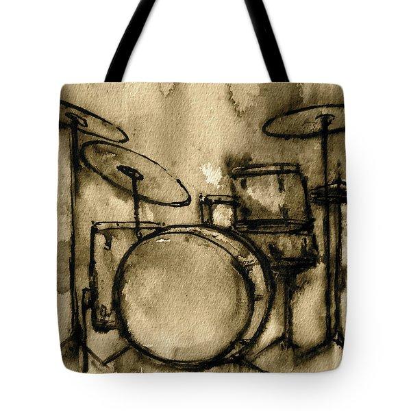 Vintage Drums Tote Bag