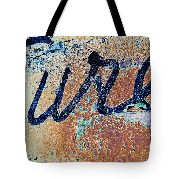 Tote Bag featuring the photograph Vintage Eureka by Steven Bateson