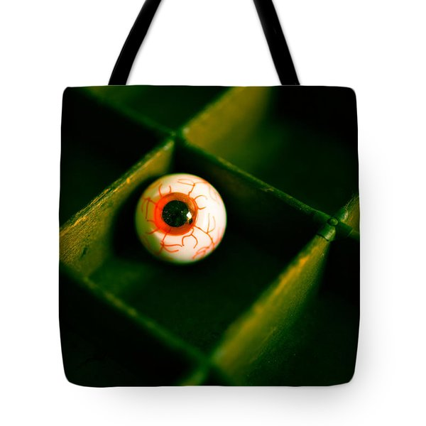 Vintage Fake Eyeball Tote Bag by Edward Fielding