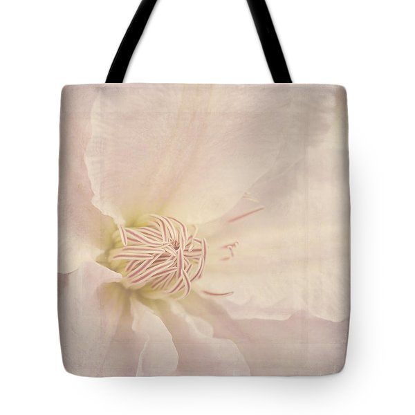 Vintage Flower Art - A Beautiful Place Tote Bag by Jordan Blackstone