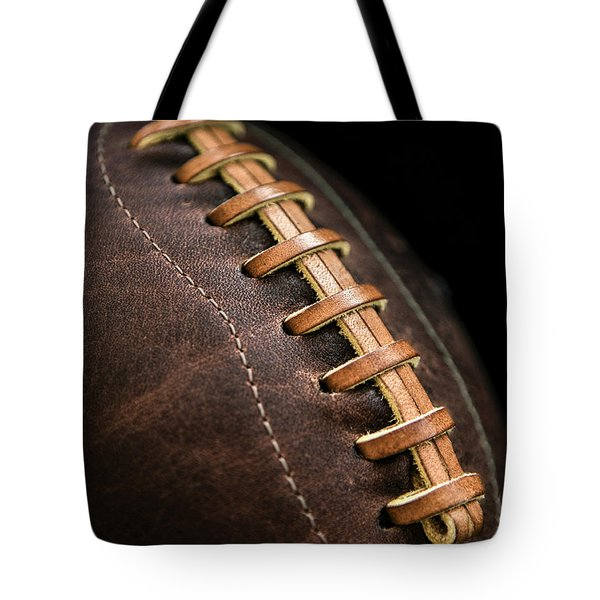 Vintage Football Tote Bag