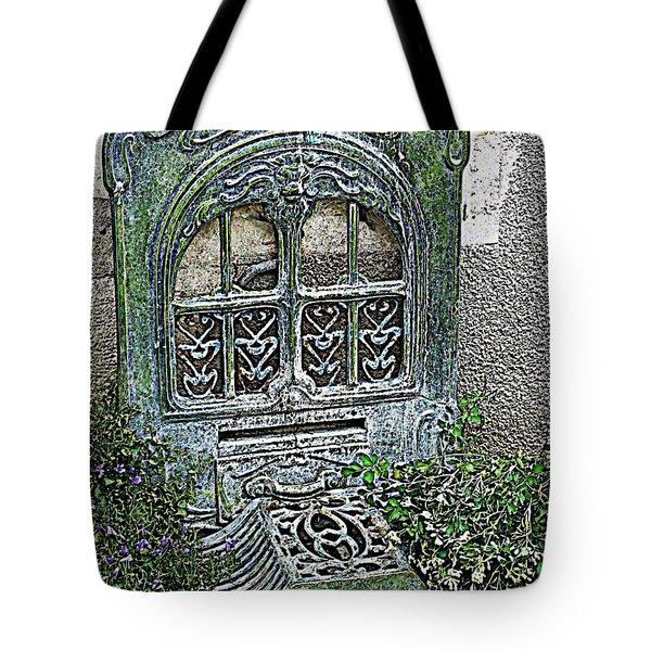 Vintage Garden Grate Tote Bag