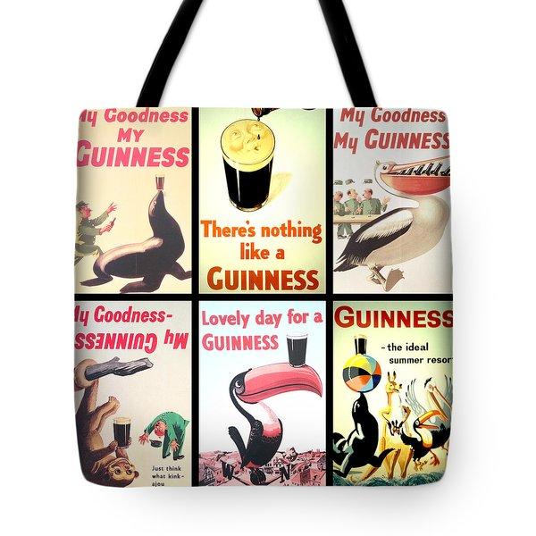 Vintage Guinness  Tote Bag