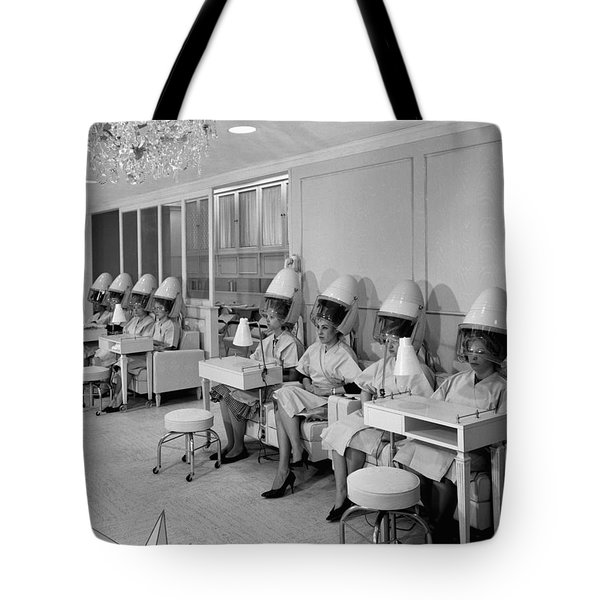 Vintage Hair Salon 2 Tote Bag