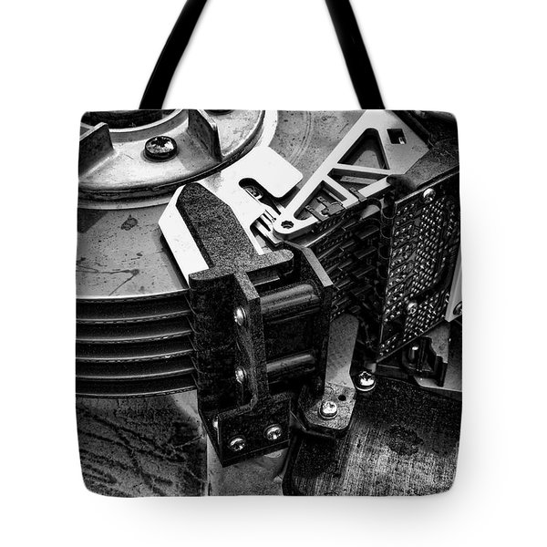 Vintage Hard Drive Tote Bag