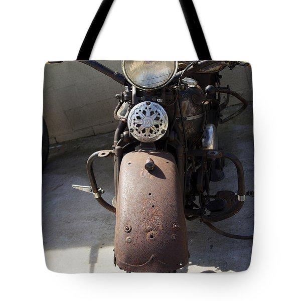 Vintage Harley Tote Bag by Nick Kirby