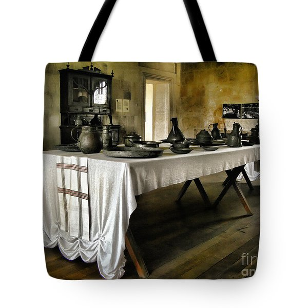 Vintage Interior Kitchen Tote Bag