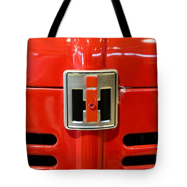 Vintage International Harvester Tractor Badge Tote Bag by Paul Ward