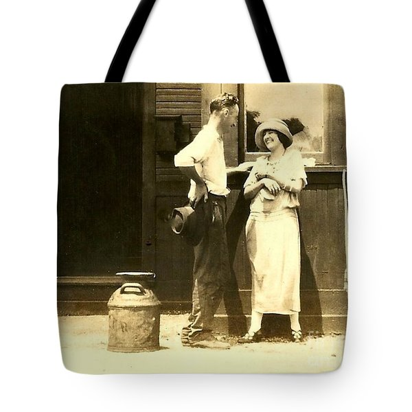 New Orleans Vintage Love In Memory Of My Deceased Grandfather From Ireland I Never New Tote Bag