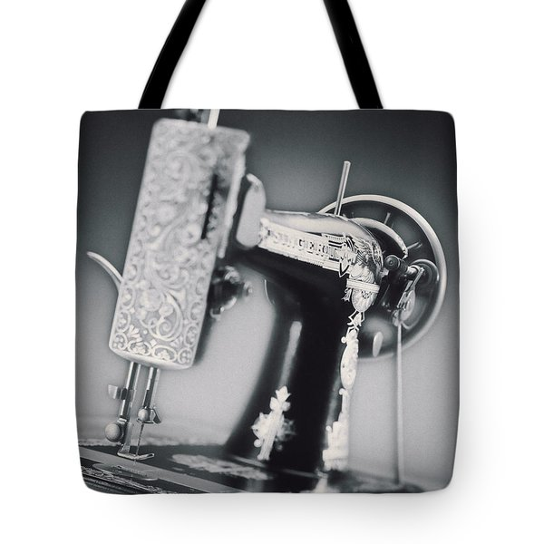 Vintage Machine Tote Bag by Kelley King